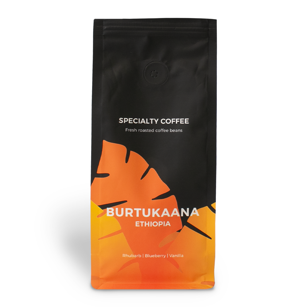 """Sortenreine Kaffeebohnen """"Ethiopia Burtukaana"""", 250 g"""