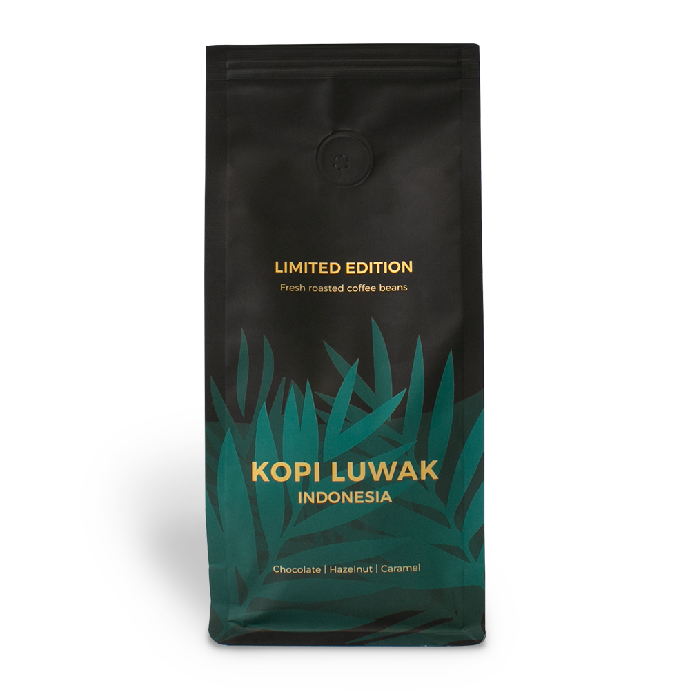 "Sortenreine Kaffeebohnen ""Indonesia Kopi Luwak"", 250 g"