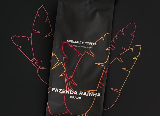 """Ungeröstete sortenreine Kaffeebohnen """"Brazil Fazenda Rainha"""", 1 kg"""