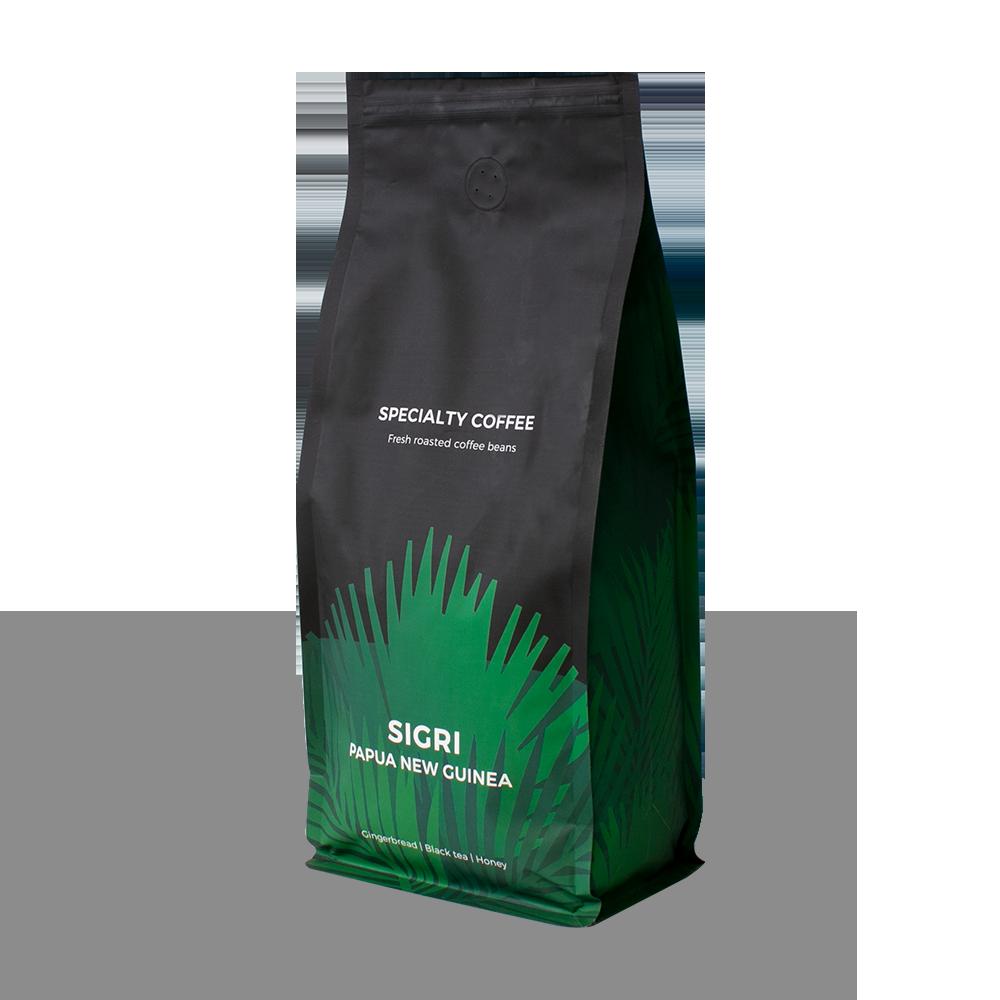 "Sortenreine Kaffeebohnen ""Papua New Guinea Sigri"", 1 kg"