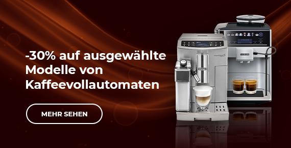 Ausgewählte Kaffeevollautomaten -30%