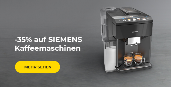 SIEMENS Kaffeemaschinen -35%