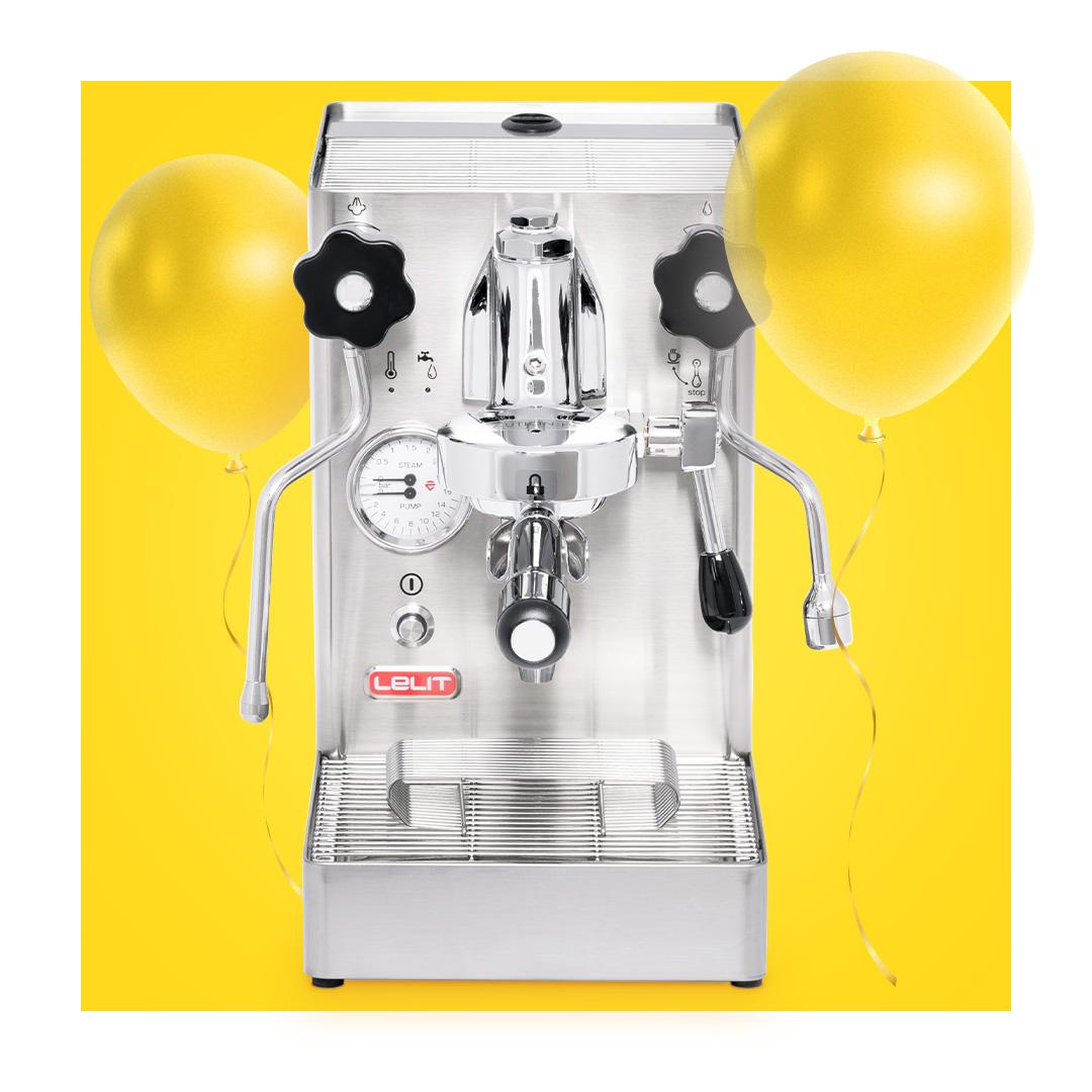 LELIT Espressomaschine + 100 € Gutschein