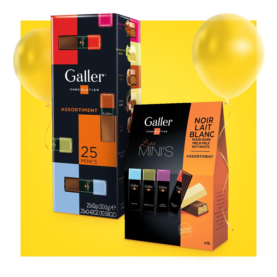 Galler Schokoladensets -10%