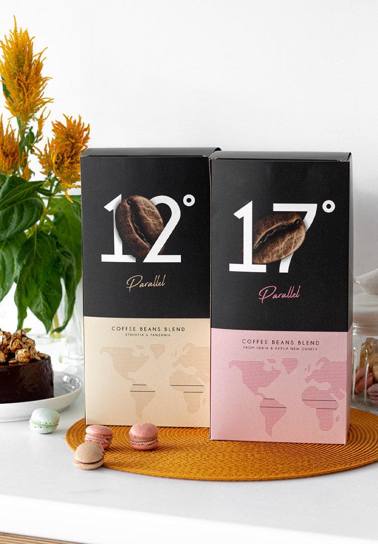Parallel Kaffeebohnen 1+1