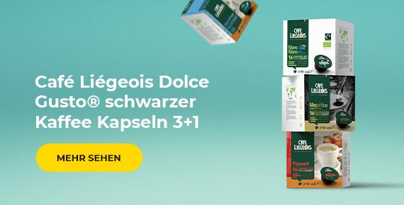 Café Liégeois Dolce Gusto® Kapseln 3+1