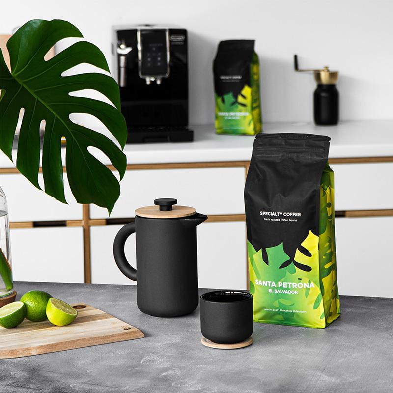 Französische Kaffeekanne