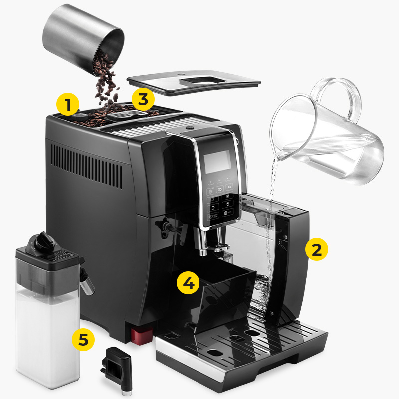 "Kaffeemaschine De'Longhi ""Dinamica ECAM 350.55.B"""