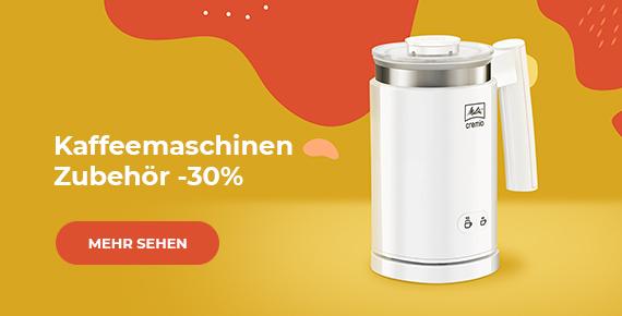 Kaffeemaschinen-Zubehör -30%