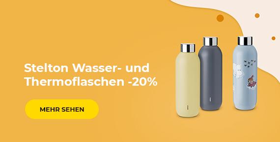 Stelton Wasser- und Thermoflaschen -20%
