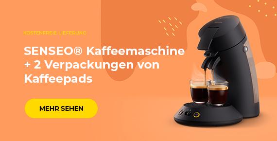 SENSEO® Kaffeemaschine + 2 Verpackungen von Kaffeepads