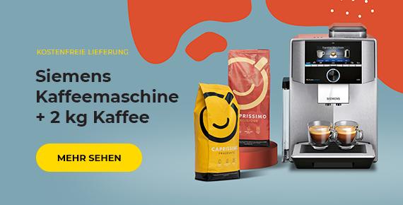 Siemens Kaffeemaschine + 2 kg Kaffee