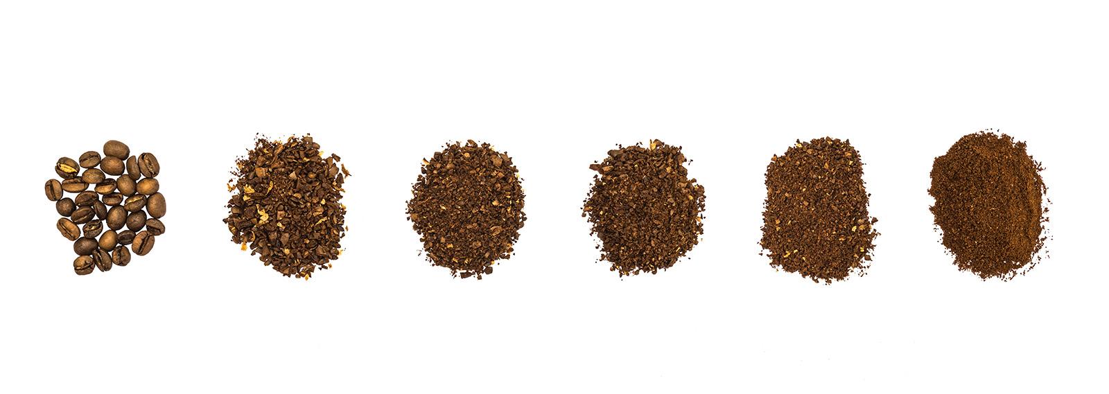 Wie mahlt man Bohnen für die Kaffeezubereitung auf verschiedene Arten