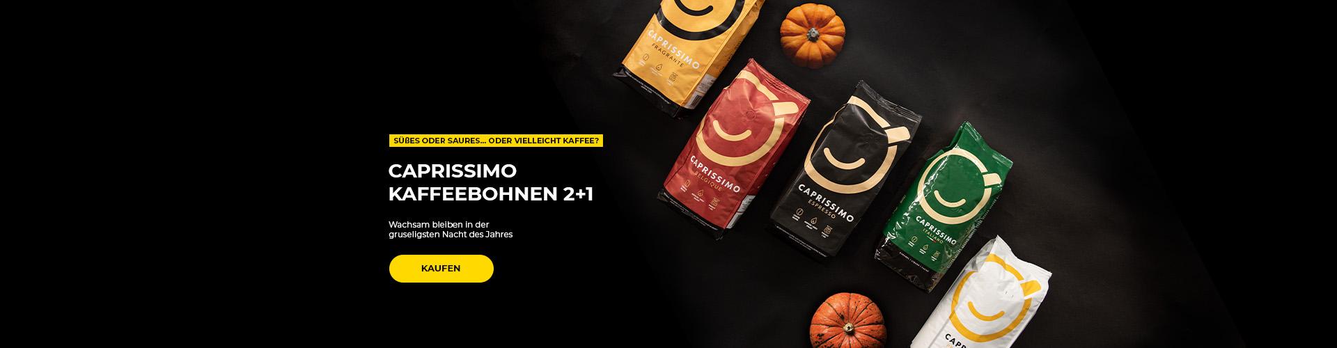 Caprissimo Kaffeebohnen 2+1