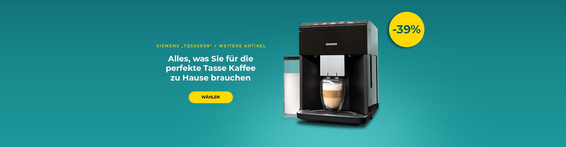 """Kaffeemaschine Lelit Siemens """"TQ505R09"""" + weitere Artikel"""